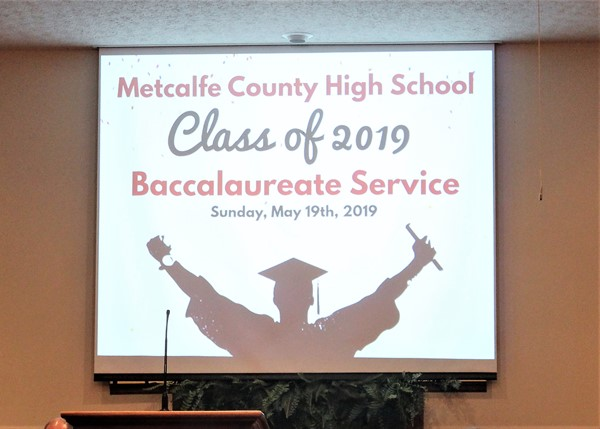 MCHS Baccalaureate Service 2019