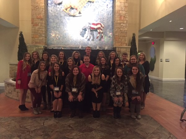 MCHS students attending the Kentucky Senior Beta Convention