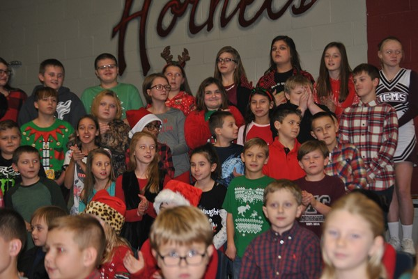 MCES Christmas Program 2018: 3rd, 4th, and 5th Grades