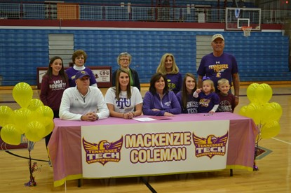 Coleman Signing with Tennessee Tech