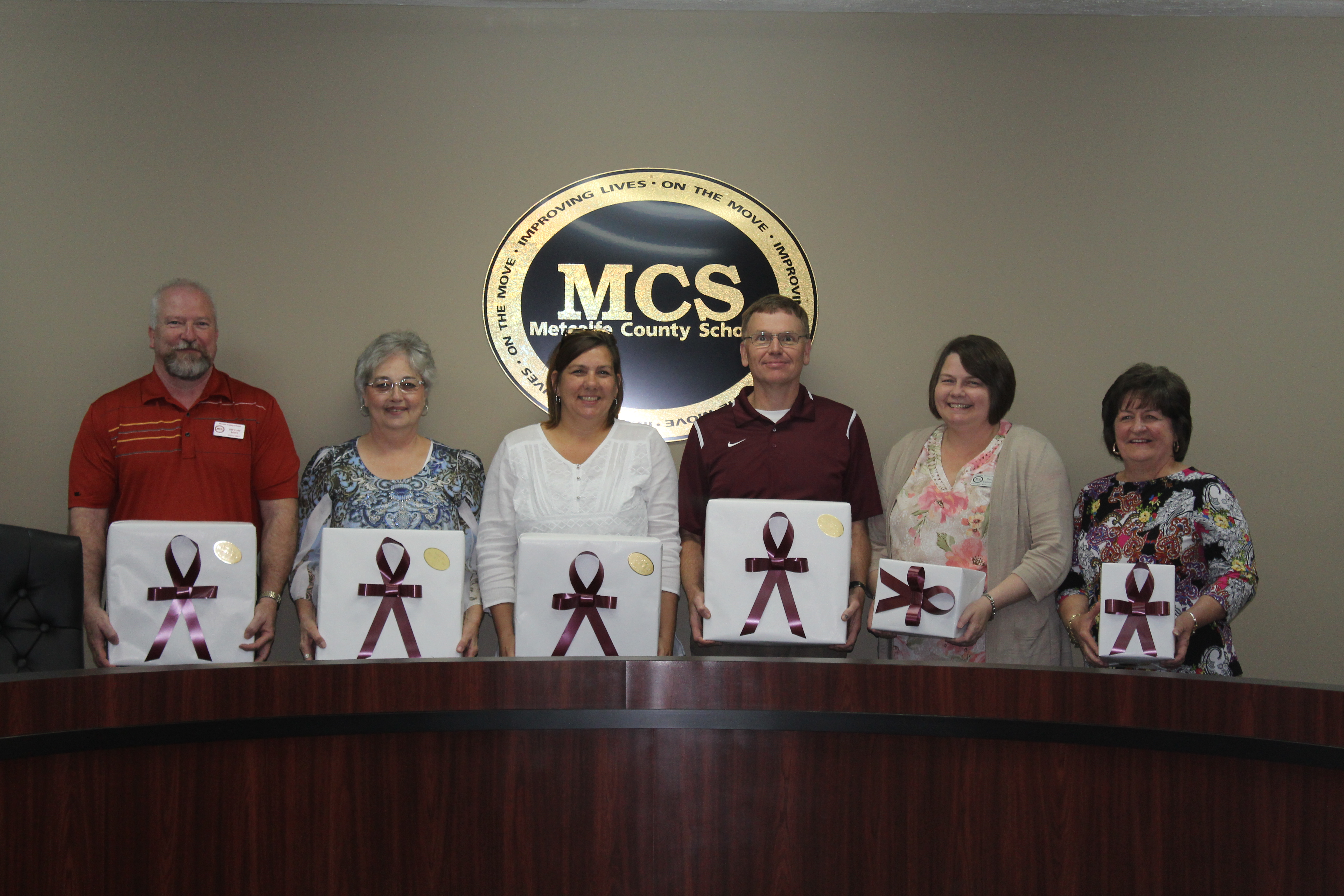Six Employees Retire from MCS