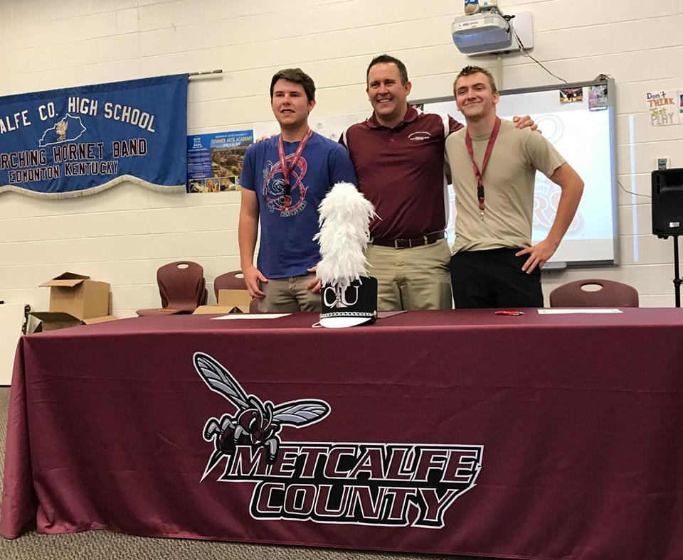 Patrick Warf and Nate Eddy Sign with Campbellsville University