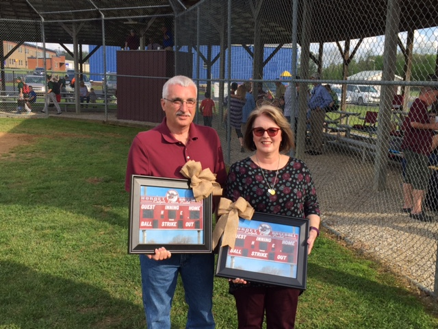 Don Allen Reece and Sheryl Reece Gossard Presented Framed Pictures