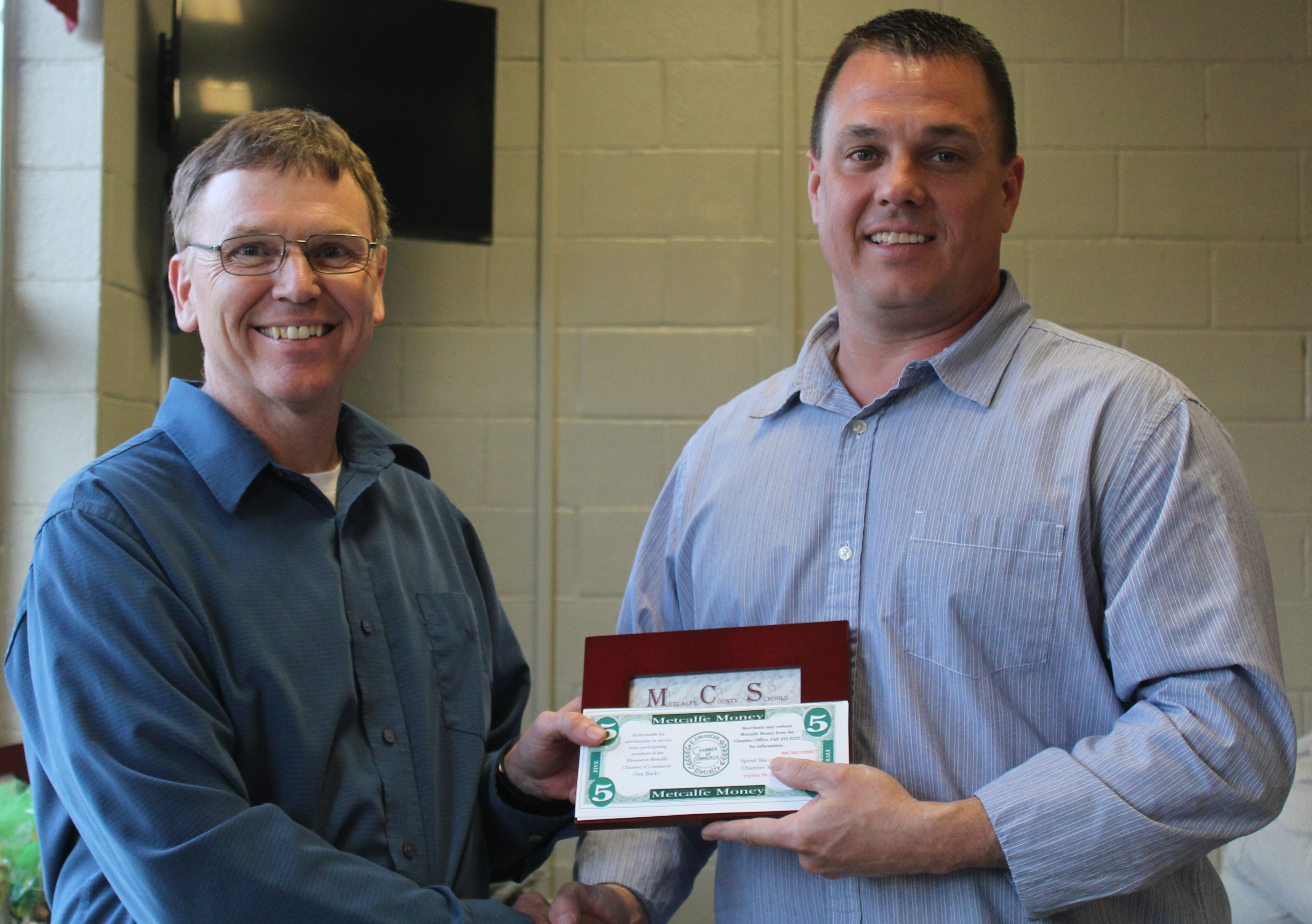 John VanMeter Selected As Teacher of the Month