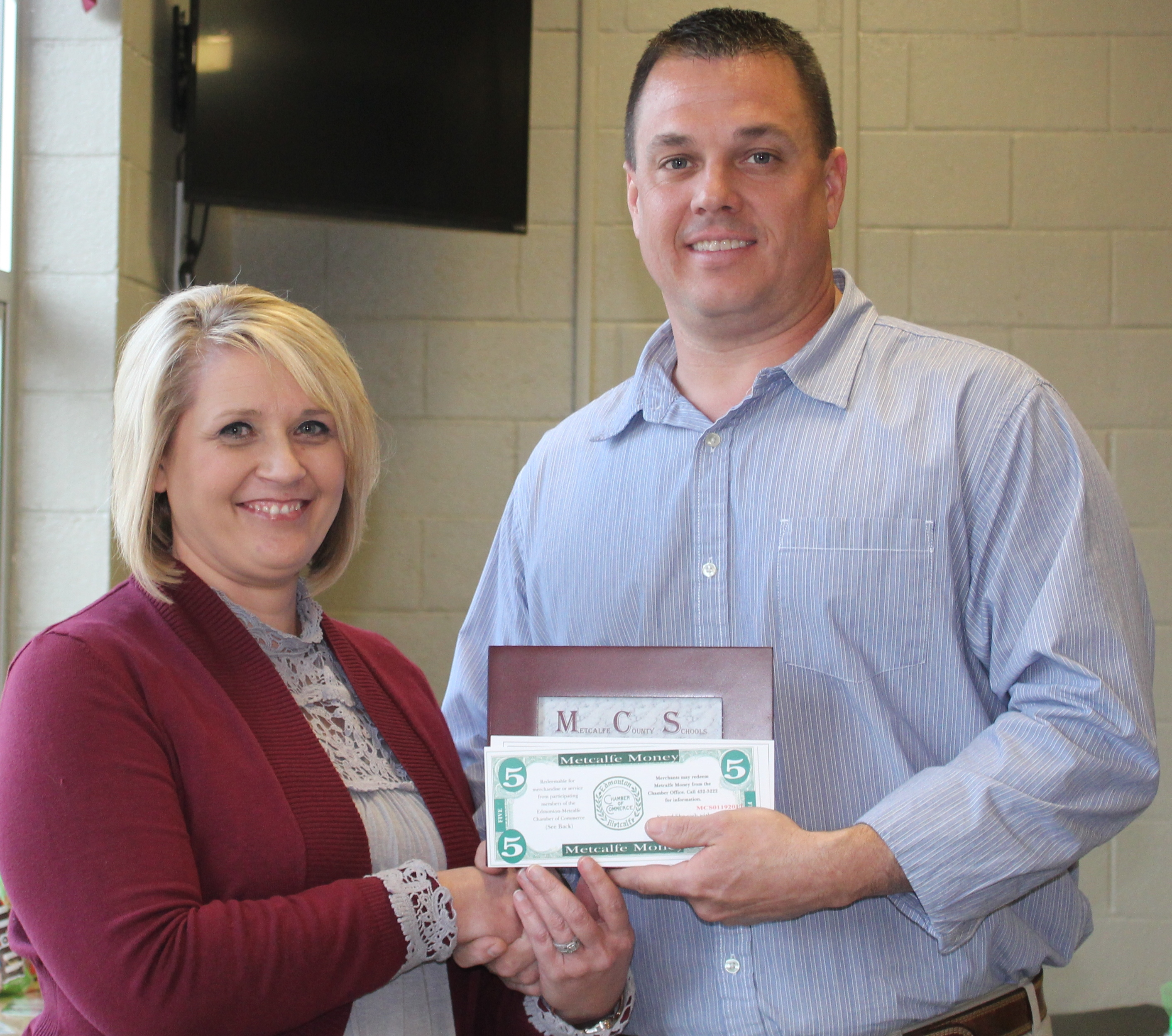 Zurmehly Chosen as Classified Employee of the Month